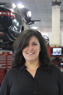Service Advisor Janine Leuthner in Service Team at Westbury Toyota