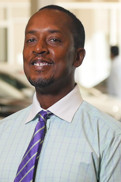 Sales Consultant Anthony Johnson in Sales at Westbury Toyota