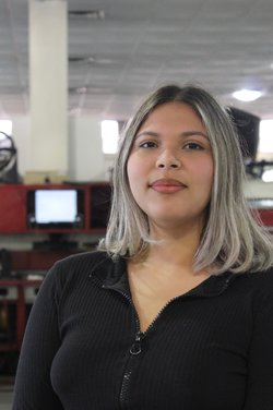 Service Appointment Coordinator Yascairy Quinones in Business Development Center at Westbury Toyota