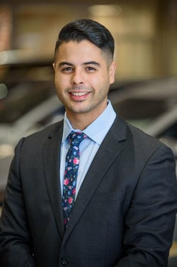 Sales Consultant Jay Gonzalez in Sales at Westbury Toyota