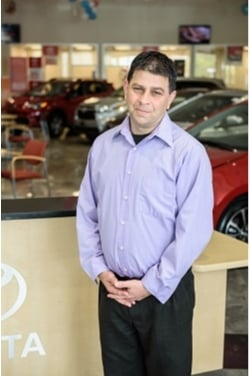 Sales Consultant David Safian in Sales at Westbury Toyota