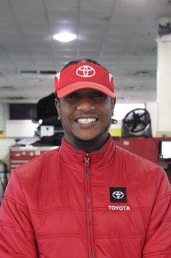 Parts Specialist Terrence Mitto in Service Team at Westbury Toyota