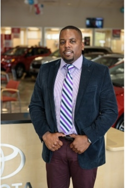 Sales Consultant Gerlad Lowe in Sales at Westbury Toyota