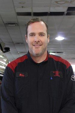 Master Diagnostic Technician Michael Mack in Service Team at Westbury Toyota