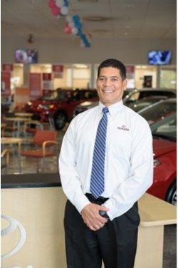 Lease Return Manager Ralston Dunn in Management at Westbury Toyota