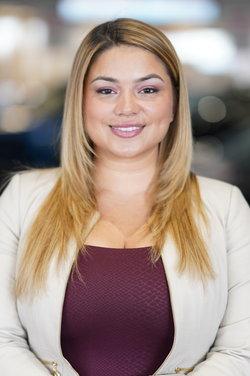 Finance Manager Yanira Martinez in Finance at Westbury Toyota