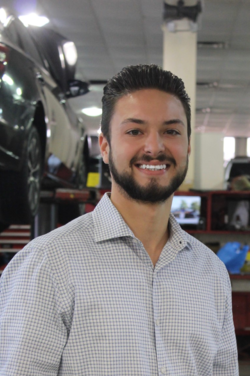 Service Advisor Chris Walls in Service Team at Westbury Toyota