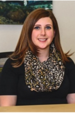 Service Advisor Whitney Mangano in Service at Westbury Toyota