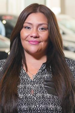 Internet Sales Coordinator Vicky Dominguez in Internet Sales at Westbury Toyota