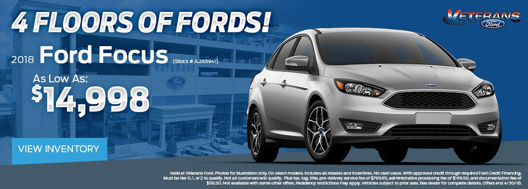 2018 ford focus special