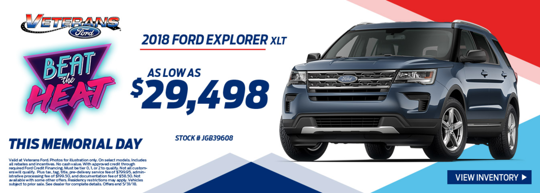 2018 Ford Explorer XLT for Sale
