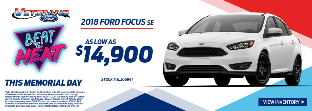 2018 Ford Focus SE for Sale