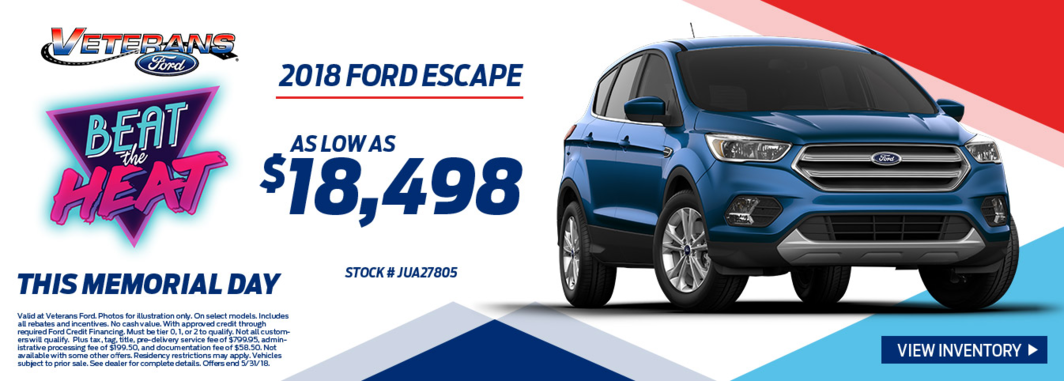 2018 Fors Escape for Sale