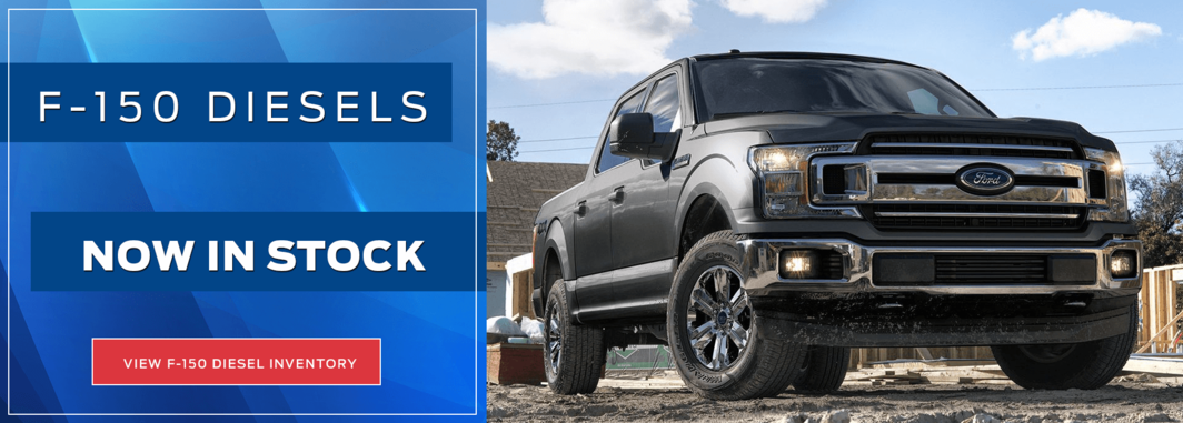 2018 F-150 Diesels Now in Stock