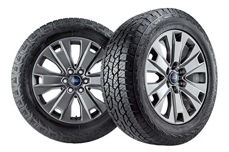 Coupon for The Big Tire Event Buy Four Select Tires, Get up to $130 in Rebates by Mail when you use the Ford Service Credit Card