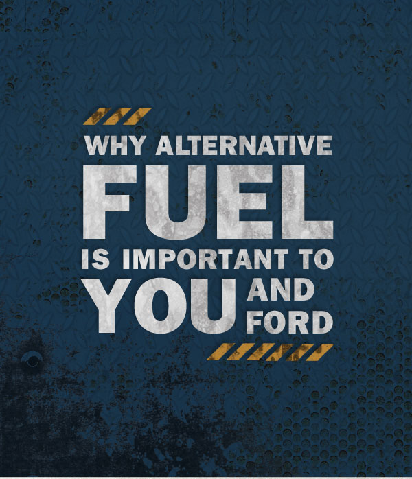 Why alternate fuel is important