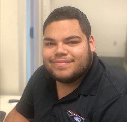 Sales Associate Benjamin Velez in Sales at Veterans Ford