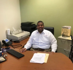 Finance Manager David Griffith in Sales at Veterans Ford