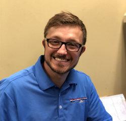 Sales Associate Grant Burke in Sales at Veterans Ford