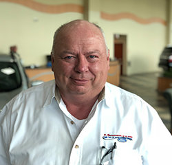 Sales Specialist Tim Whitaker in Sales at Veterans Ford