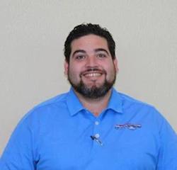 Sales Associate Roberto Gutierrez in Sales at Veterans Ford