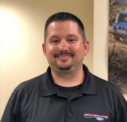 Internet Manager Aaron Scheible in Sales at Veterans Ford