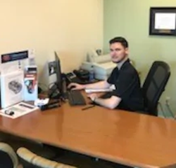 Finance Manager Josh Seith in Sales at Veterans Ford