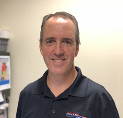 Service Manager Brian Zeigler in Sales at Veterans Ford
