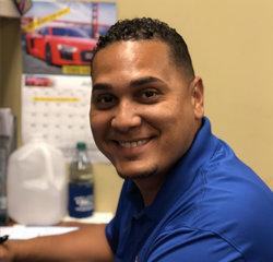 Sales Associate Rafael Lopez in Sales at Veterans Ford