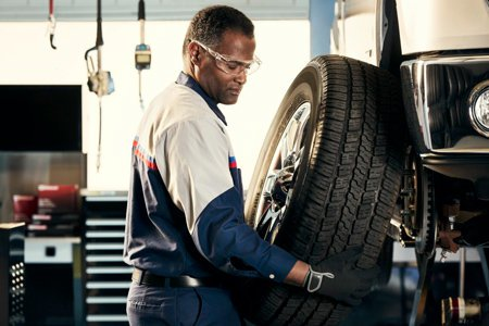 Coupon for Alignment Check Purchase a set of tires and receive a free alignment check for the life of the tires