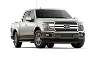 New silver Ford F-150 for sale at Mathews Ford Oregon in Toledo.