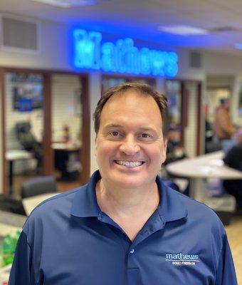 Sales Consultant Dan Steinhauser in Sales at Mathews Ford Oregon