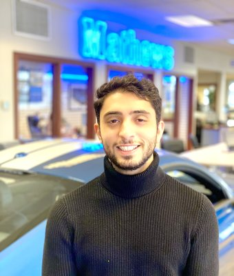 Sales Consultant Bsher Alnemeeh in Sales at Mathews Ford Oregon