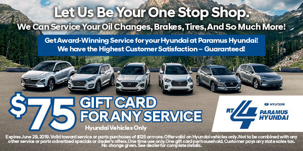 Coupon for $75 Gift Certificate Use towards any service or repair as a thank you for your business!