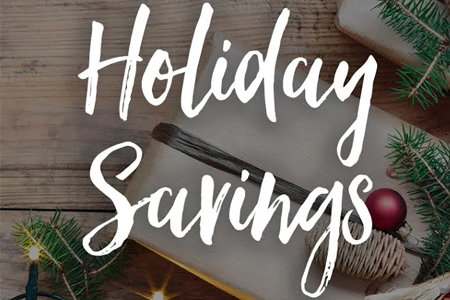 Coupon for Holiday Savings Certificate Buy More - Save More