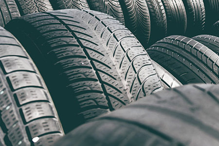 Coupon for Up to 25% Off Purchase of 4 Selected Tires Don't tread on this tire offer