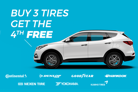 Coupon for Heather's Tire Kingdom - Biggest Sale on All Tires Buy 3 Tires, Get the 4th FREE.