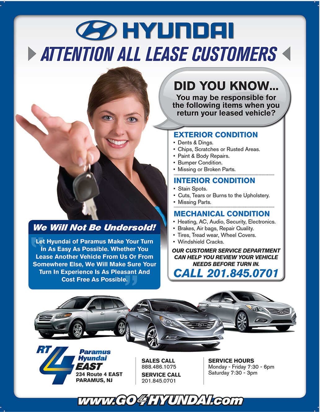 Hyundai Customer Service >> Lease A Vehicle At Paramus Hyundai