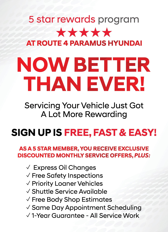 5 Star Service At Paramus Hyundai