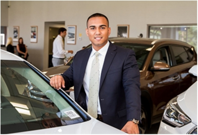 Sales Advisor Brandon Martinez in Sales at Paramus Hyundai