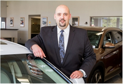Sales Advisor Brian Gombocz in Sales at Paramus Hyundai