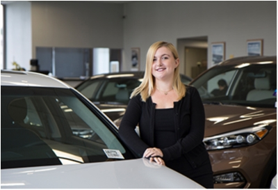 Internet Sales Coordinator Brittany DeCarlo in Sales at Paramus Hyundai