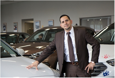 Sales Advisor Jefferson Palau in Sales at Paramus Hyundai