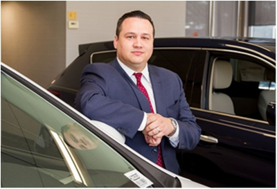 Sales Manager Jesse Lopez in Sales at Paramus Hyundai