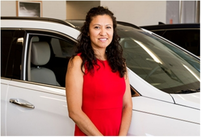 Business Development Director Marilyn Batres in Sales at Paramus Hyundai