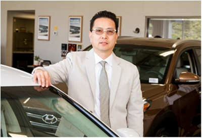 Sales Advisor Paul Paik in Sales at Paramus Hyundai