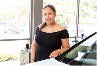 Internet Sales Coordinator Renee Keith in Sales at Paramus Hyundai
