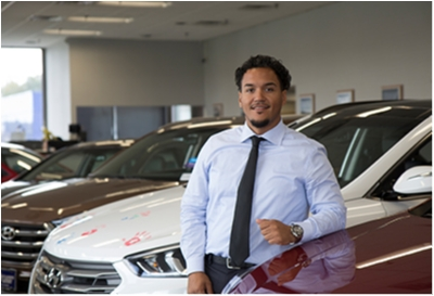 Sales Advisor Samuel Mansell in Sales at Paramus Hyundai