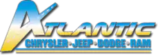 Atlantic CJDR dealership logo