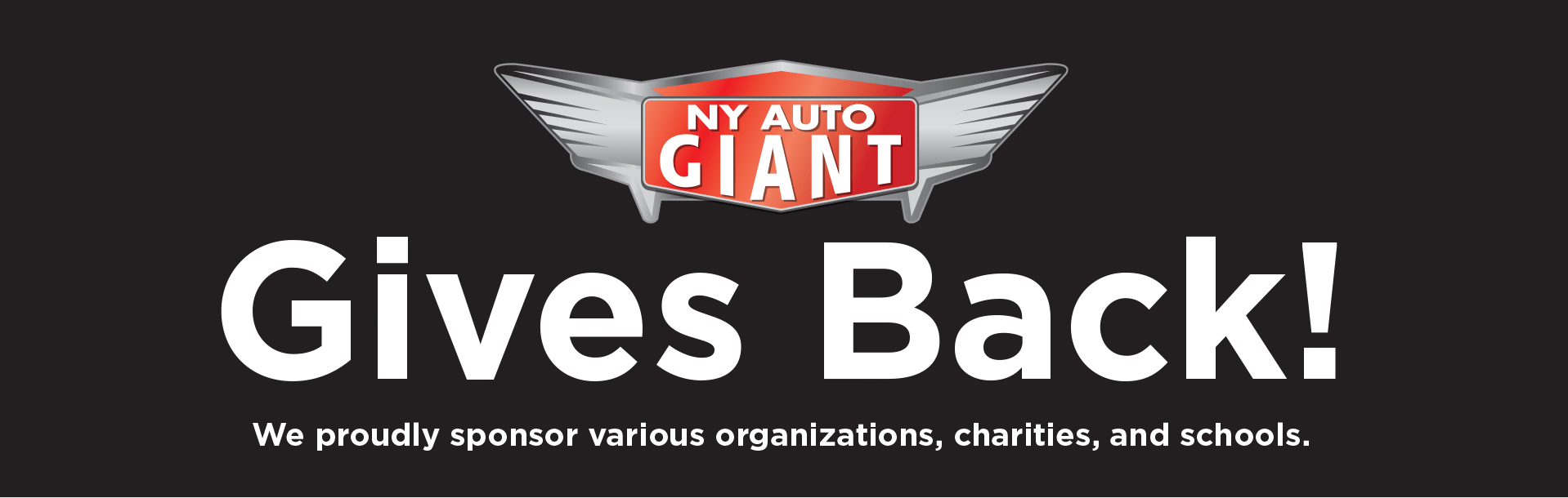 ny auto giant gives back